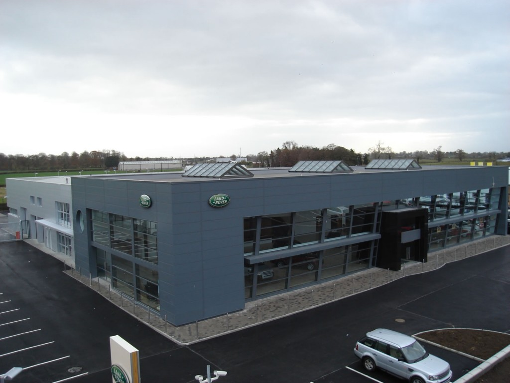 McElliott's Landrover Showrooms