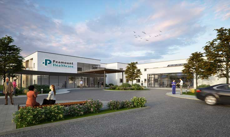 Peamount Healthcare 100 Bed Healthcare & Nursing Facility